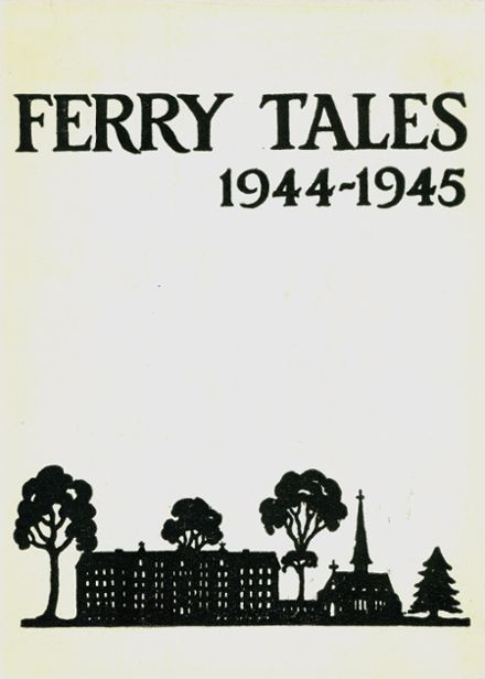 1945 Ferry Hall High School Yearbook Cover