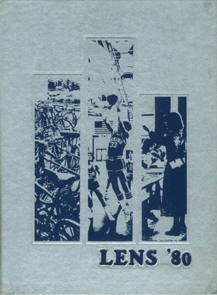 1980 Maine Township High School Yearbook Cover