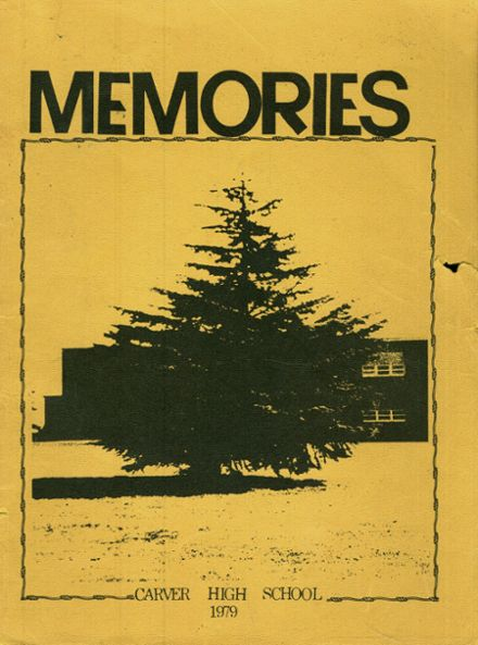 1979 Carver High School Yearbook Cover