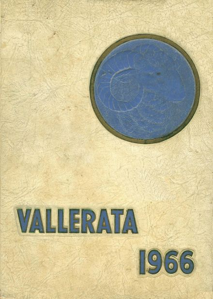 1966 Valley High School Yearbook Cover