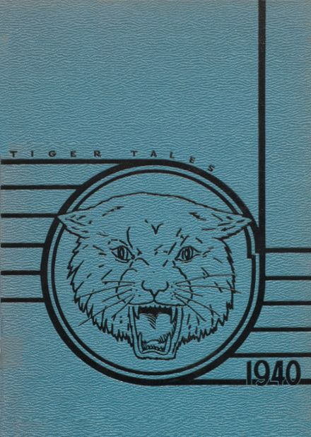 1940 Enumclaw High School Yearbook Cover