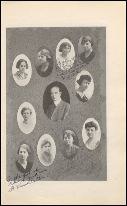 1921 Rhinelander High School Yearbook Page 9