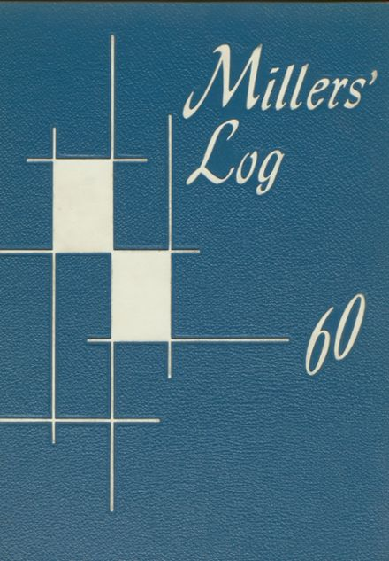 1960 Springfield High School Yearbook Cover