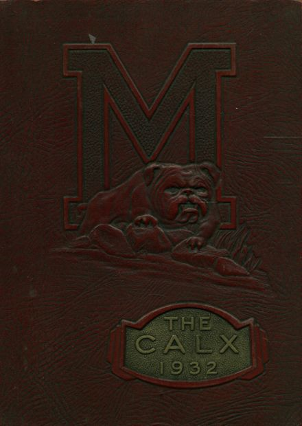 1932 Maysville High School Yearbook Cover