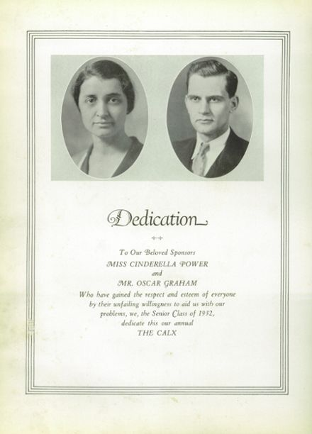 1932 Maysville High School Yearbook Page 8
