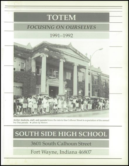 1992 South Side High School Yearbook Page 5