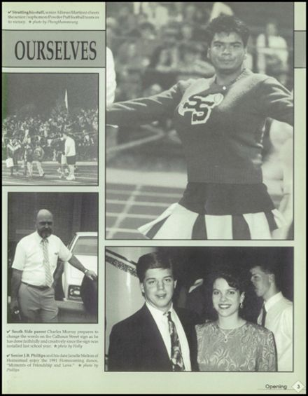 1992 South Side High School Yearbook Page 7