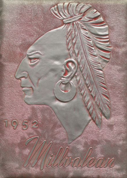 1952 Millvale High School Yearbook Cover