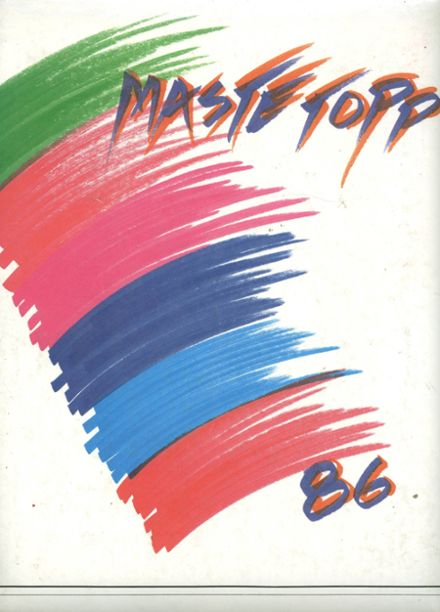 1986 Edison High School Yearbook Cover