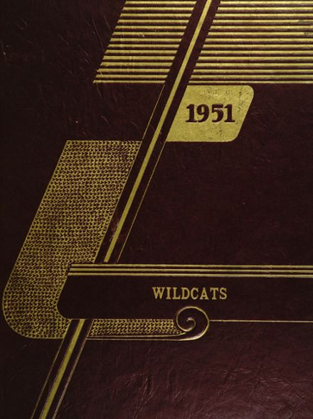 1951 Marcellus High School Yearbook Cover