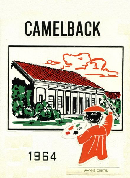 1964 Scottsdale High School Yearbook Cover