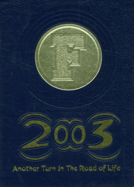 2003 Franklin High School Yearbook Cover