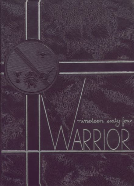 1964 Anadarko High School Yearbook Cover