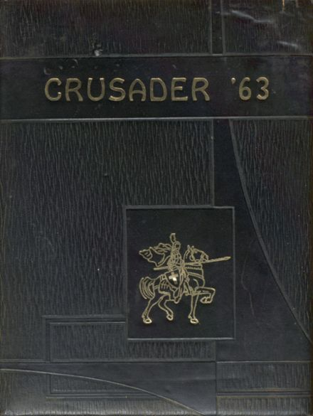 1963 Windsor Central High School Yearbook Cover