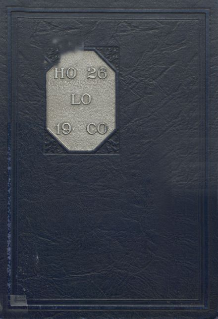 1926 Estherville High School Yearbook Cover
