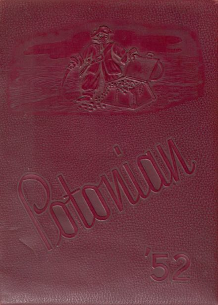 1952 Poteau High School Yearbook Cover
