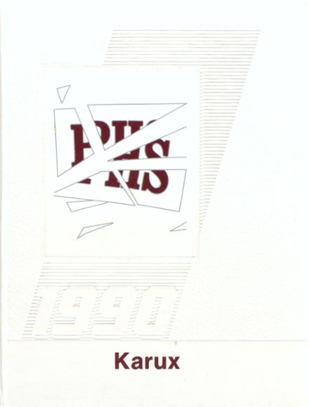 1990 Phillipsburg High School Yearbook Cover