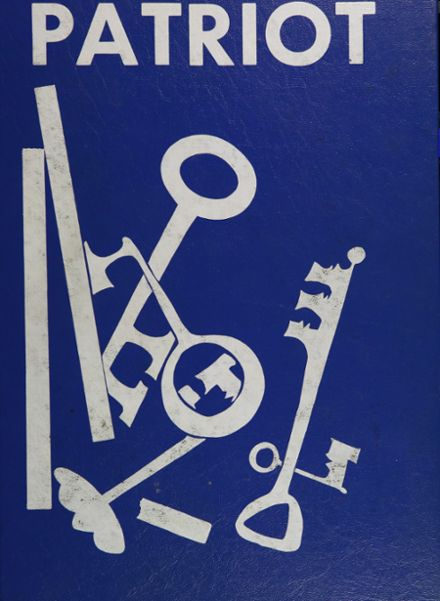 1962 Hale High School Yearbook Cover