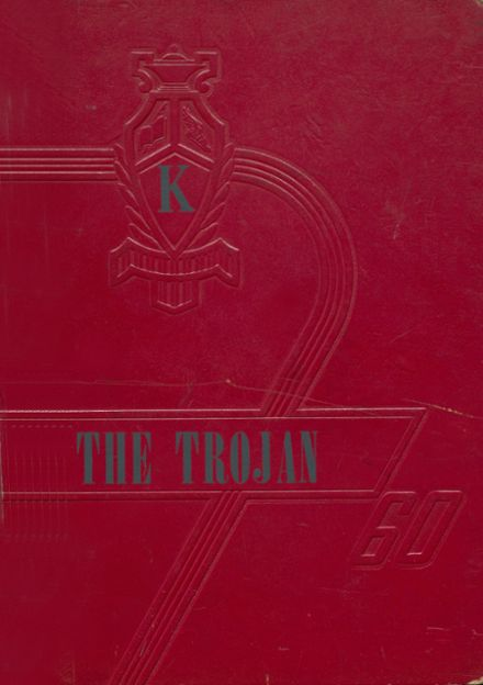 1960 Kirby High School Yearbook Cover