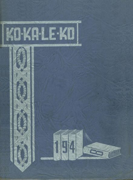 1948 Cocalico High School Yearbook Cover