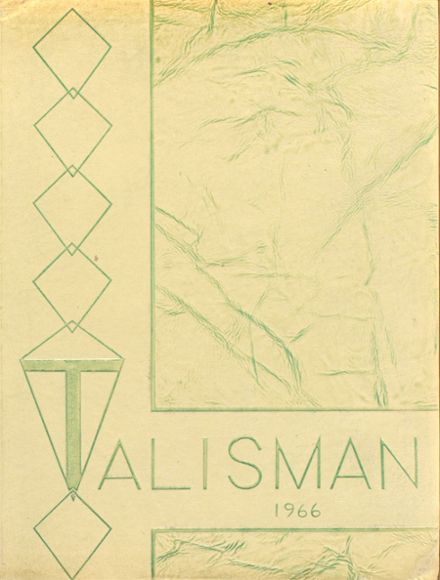 1966 Bedford High School Yearbook Cover