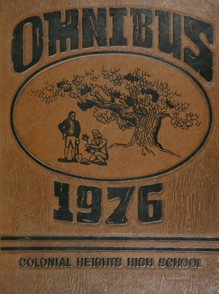 1976 Colonial Heights High School Yearbook Cover