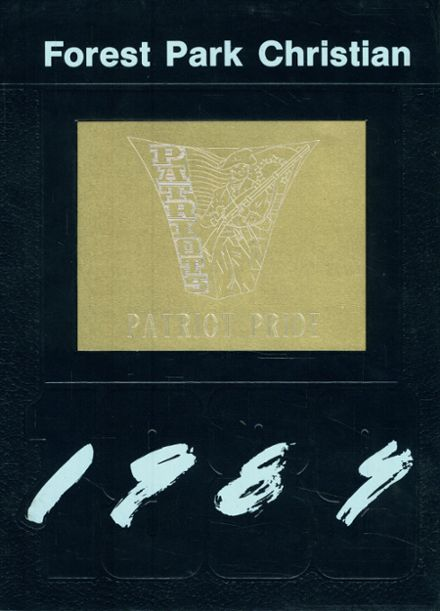 1989 Forest Park Christian School Yearbook Cover