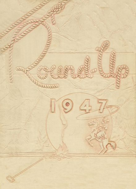 1947 Union High School Yearbook Cover