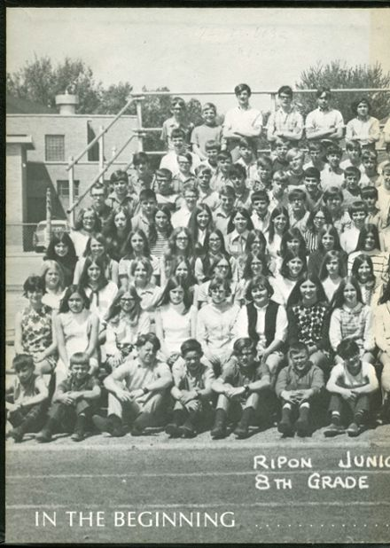1974 Ripon High School Yearbook Page 2