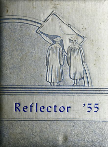 1955 East Union Center High School Yearbook Cover