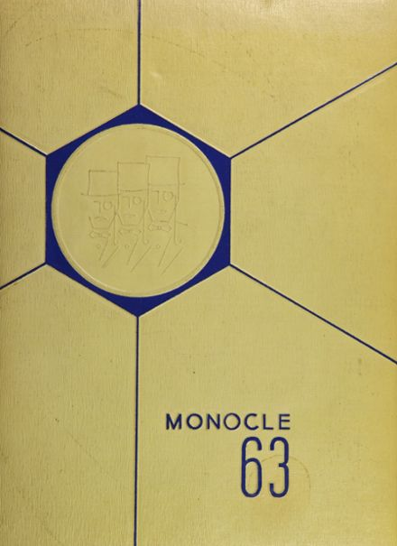 1963 Lemon Monroe High School Yearbook Cover