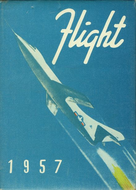 1957 St. Johns High School Yearbook Cover