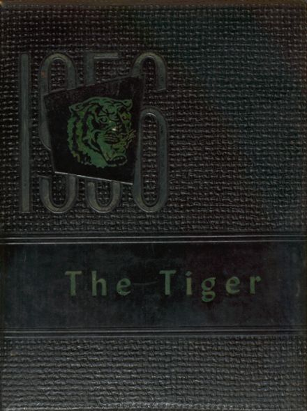 1956 Charlotte High School Yearbook Cover
