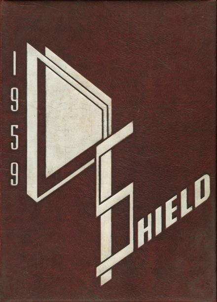 1959 Smithfield High School Yearbook Cover