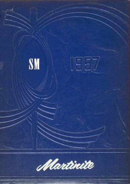 1957 St. Martin's High School Yearbook Cover