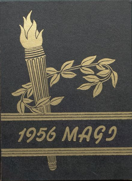 1956 Colon High School Yearbook Cover