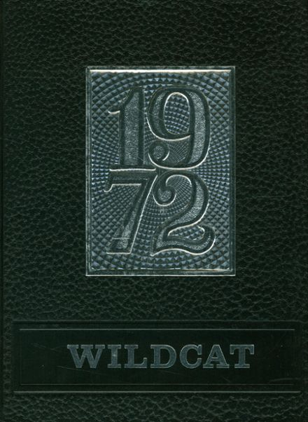 1972 Whitehouse High School Yearbook Cover