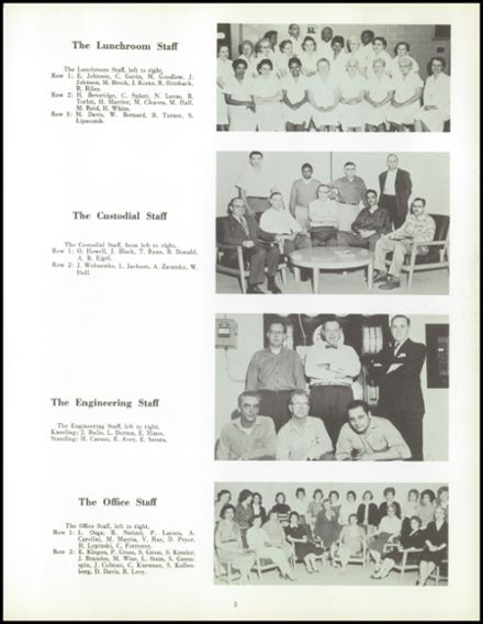 1961 Mumford High School Yearbook Page 9