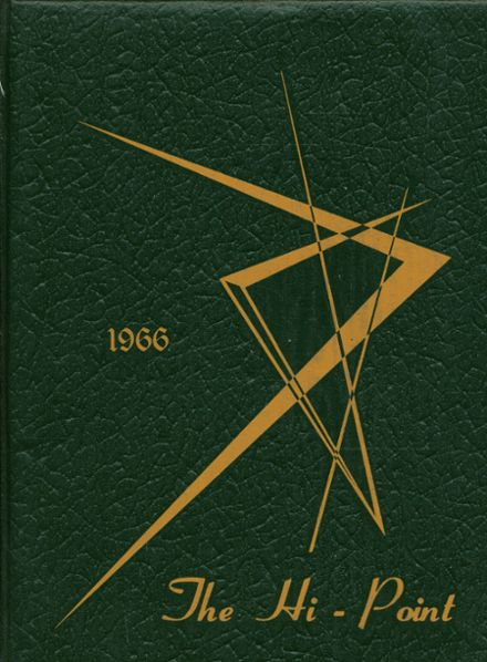 1966 Meyersdale Area High School Yearbook Cover