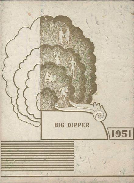 1951 Shiloh High School Yearbook Cover