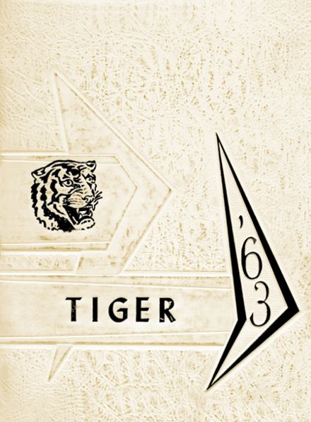 1963 Roff High School Yearbook Cover