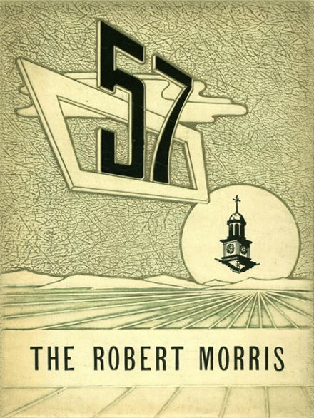 1957 Morrisville High School Yearbook Cover