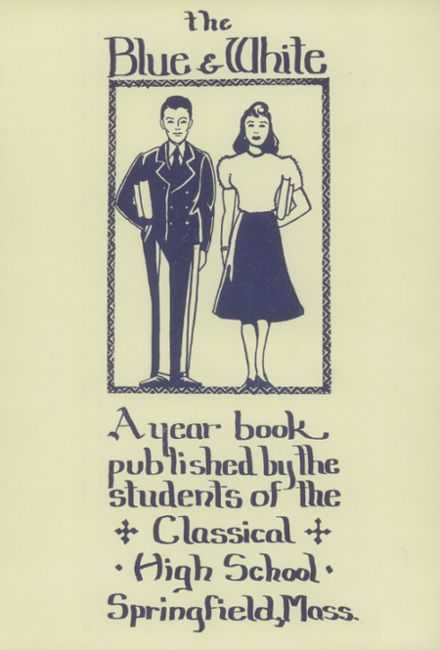 1940 Classical High School Yearbook Cover
