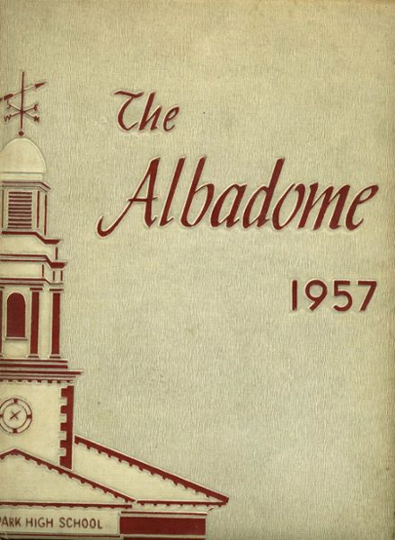 1957 Highland Park High School Yearbook Cover