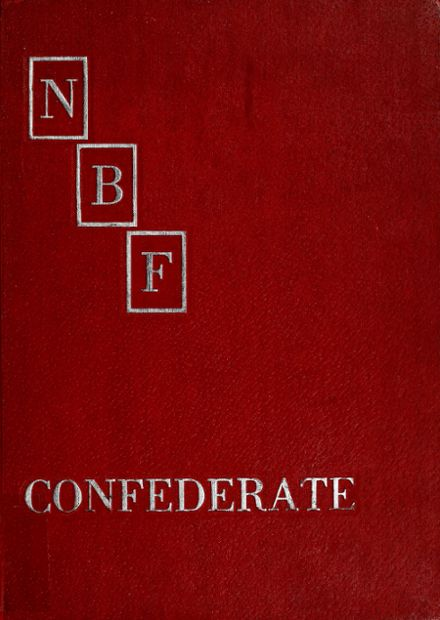 1966 Nathan B. Forrest High School Yearbook Cover