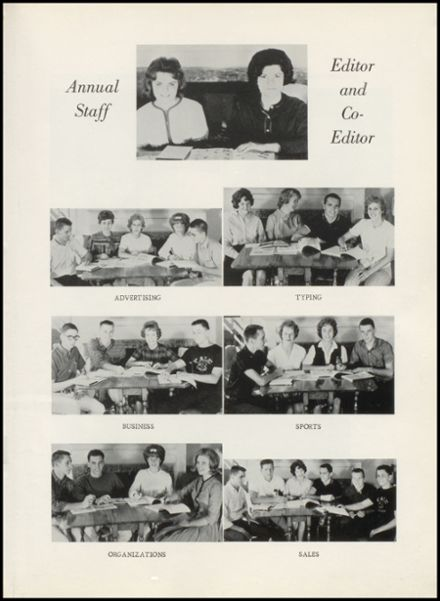 1964 Yale High School Yearbook Page 7