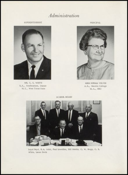 1964 Yale High School Yearbook Page 8