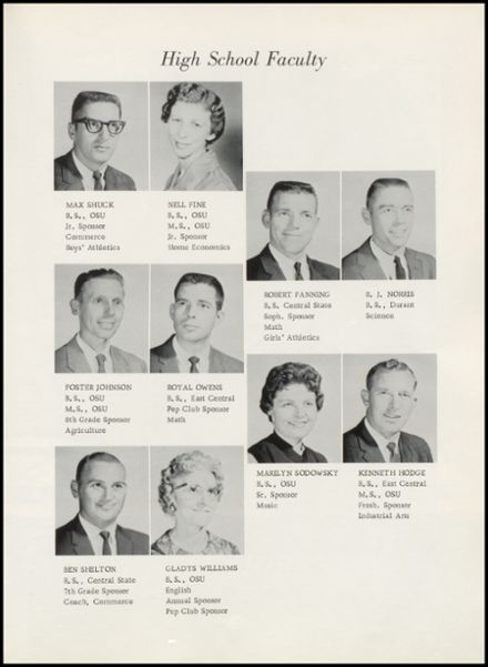 1964 Yale High School Yearbook Page 9