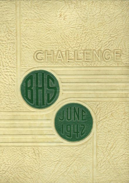 1942 Bloomfield High School Yearbook Cover