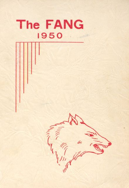 1950 Coupeville High School Yearbook Cover
